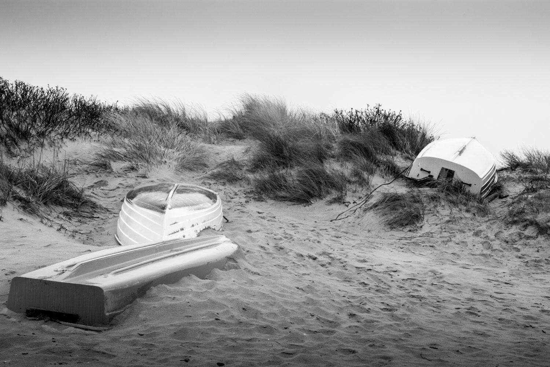 Boot auf der Flucht