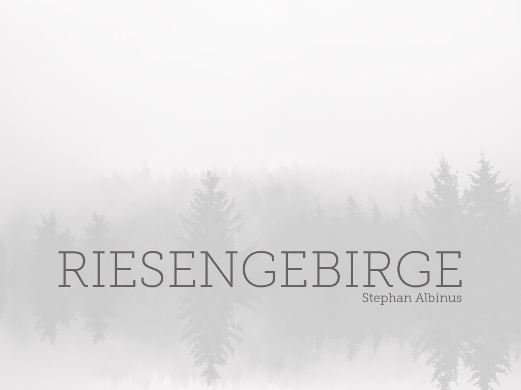 Riesengebirge Ebook Cover