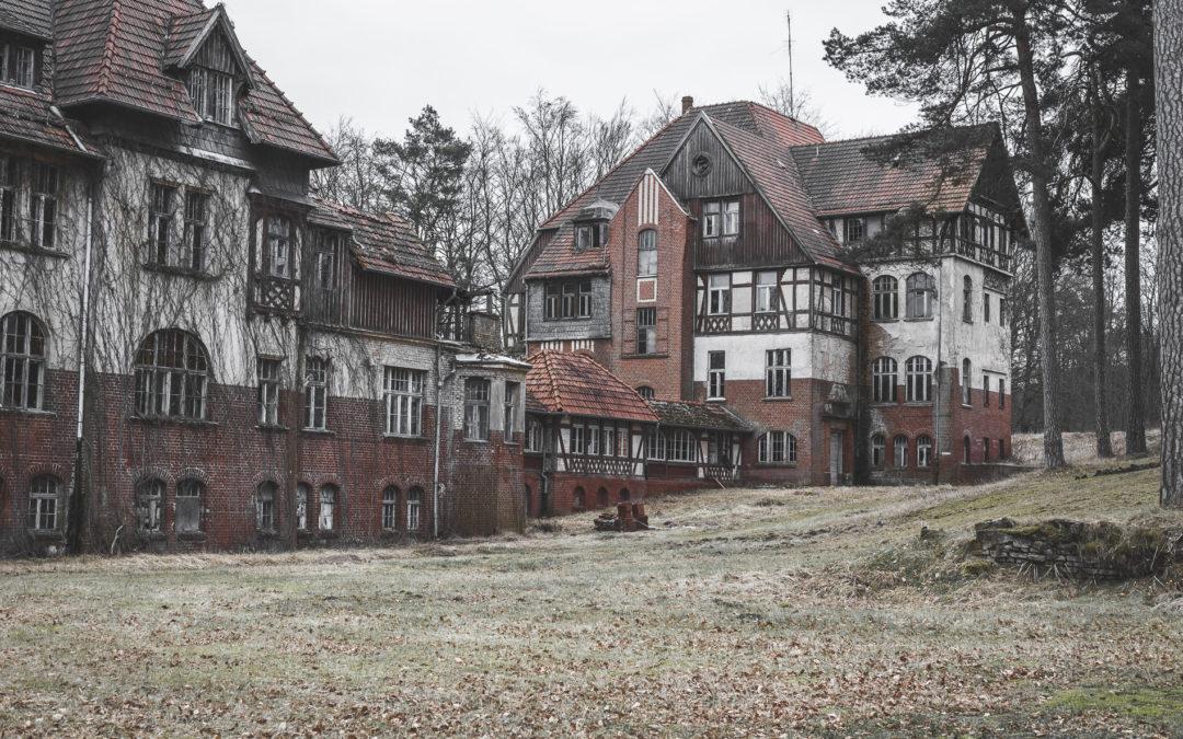 Heilstätte in Hohenlychen